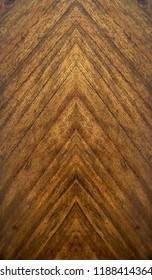 mende wood veneer arrow pattern