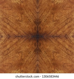 mende wood veneer board panel abstract symmetric concentric pattern