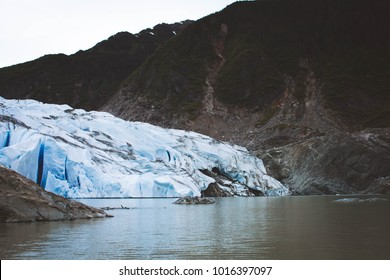 Mendenhall Glacier, Juneau Alaska USA