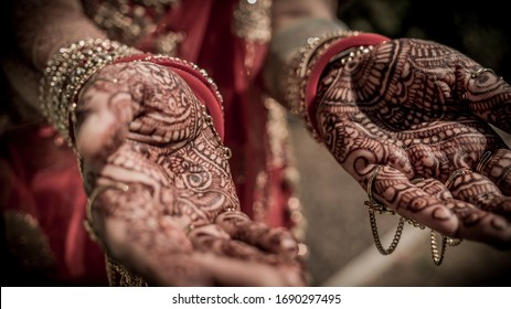 Mendhi Henna Art Hand Design India