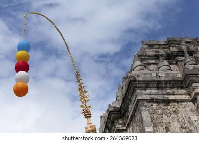 Mendhut Temple at Vesak Celebration