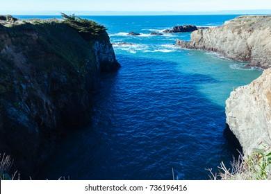 Mendocino, California, California coast,