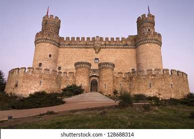 The Mendoza Castle, situated in Madrid region, is a fortress-palace from the 15th century in Manzanares el Real