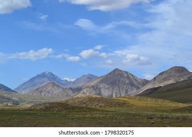 Mendoza Valle Hermoso Andes landscape - Shutterstock ID 1798320175