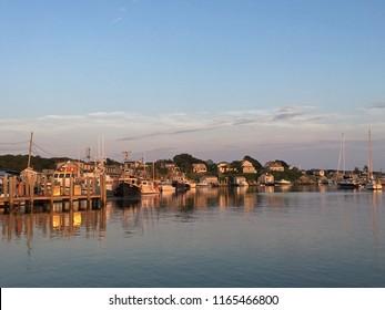 Menemsha Harbor, Chilmark, Martha's Vineyard, Massachusetts