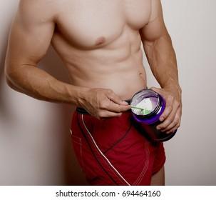 mens athletic torso