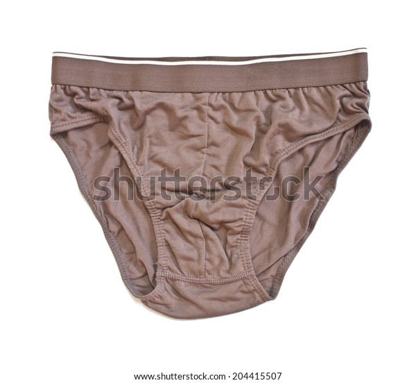 men's briefs isolated on a white background