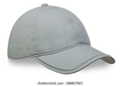 Men's cap on a white background