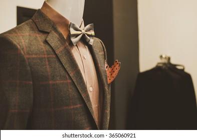 Mens clothing shop