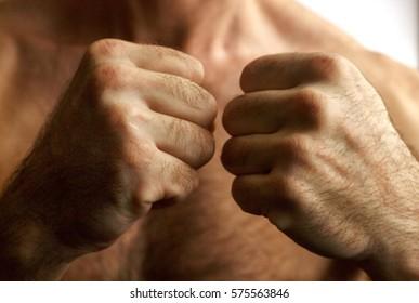 Men's fists