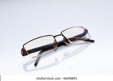 Men's glasses  close up