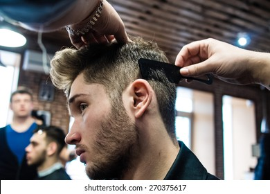 Mens Hair Style Images Stock Photos Vectors Shutterstock