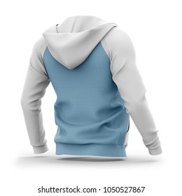 Hooded man back images stock photos vectors shutterstock mens hoodie with open zipper hlaf back view 3d rendering clipping paths gumiabroncs Gallery