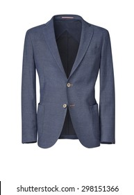 mens jacket isolated on white. with a clipping path.