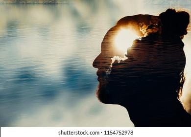 Men's mental health. Psychologies concept.