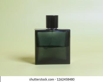 men's perfume in bottle