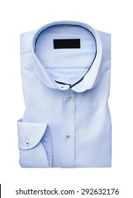 mens shirt isolated  on a white background. with an clipping path