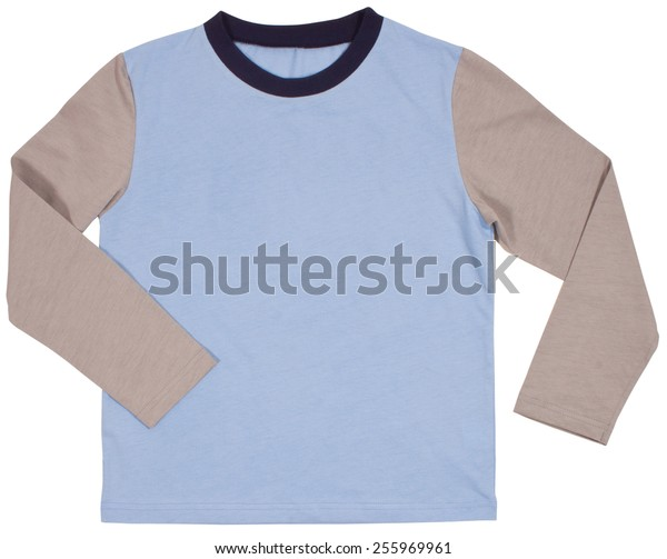 Men's shirt Isolated on a white background.