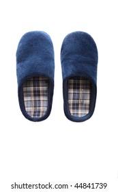 Mens slippers.