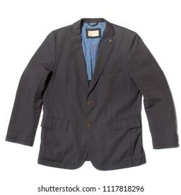 Men's sport travel jacket blazer on white background