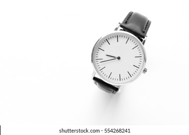men's watch isolated