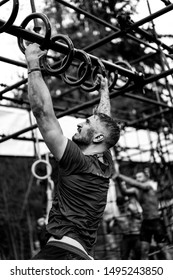 men's workout - Obstacle Race, Sports Competition