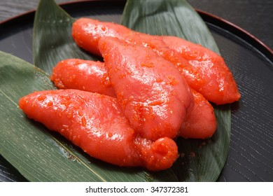mentaiko, chili pepper flavored Alaska pollack roe