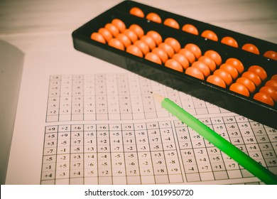 Mental arithmetic background