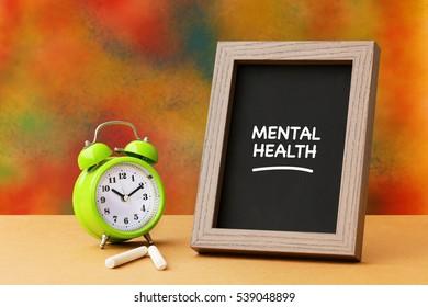 Mental Health, Health Concept