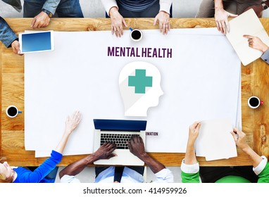 Mental Health Psychological Stress Management Emotional Concept