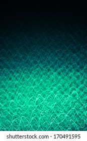 Menthol laser curves background