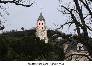 Meran in Spring, South Tyrol, Italy