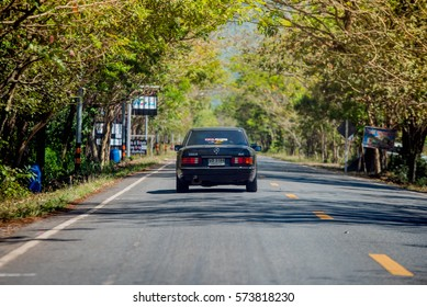 Mercedes Benz rally to Nakhon Ratchasima, Thailand 6 February 2017