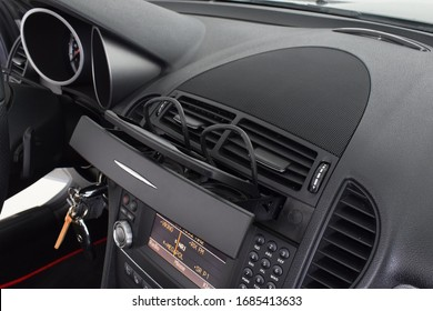 Mercedes Benz SLK 200  2008  cockpit interior cabin details
