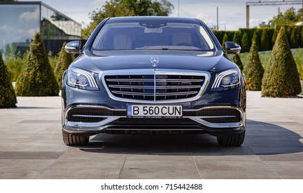 "Mercedes-Benz Maybach 2017 06 september Castel ""Mimi"" . Moldova. Exterior, front view."