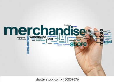 Merchandise word cloud