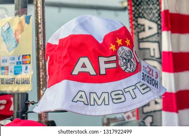 Merchandising Hat From The AFC Ajax Football Team At Amsterdam The Netherlands 2019