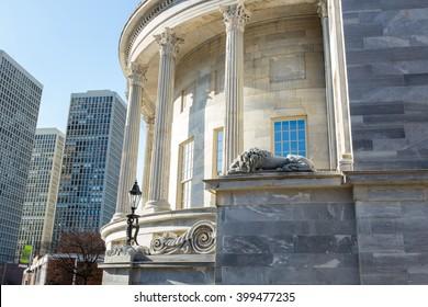Merchant's Exchange Building, Old City Philadelphia, PA
