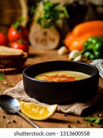 mercimek soup lentil