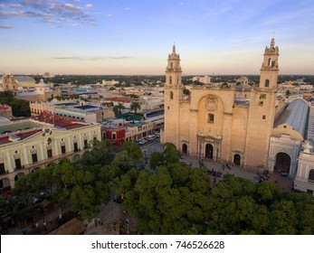 Merida Cathedral downtown