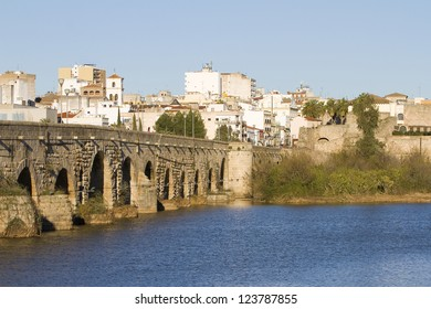 Merida, Spain, an important roman city founded in the year 25 BC.