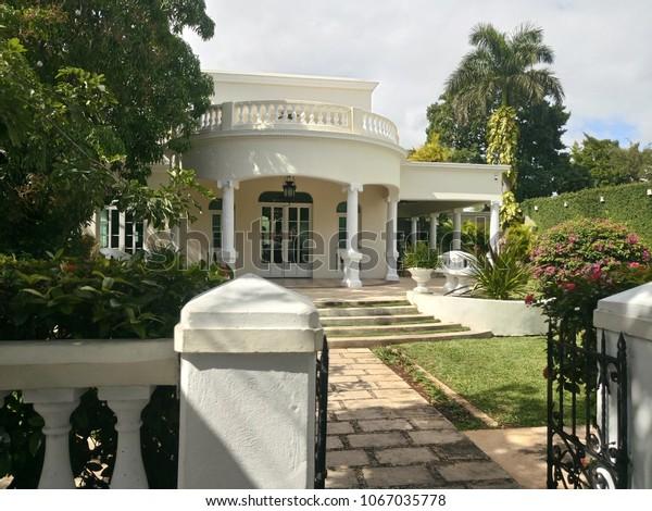 Merida Yucatan January 23 Mansion Delfina Stock Photo (Edit