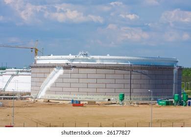MERO CTR - central refuel of coal oil in Nelahozeves in Czech republic