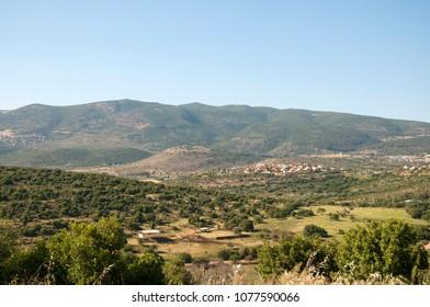 the Meron mountains