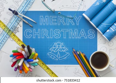 Merry Christmas Blueprint