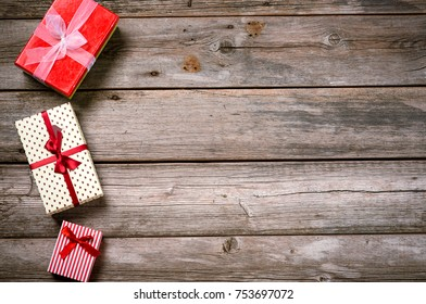 Merry Christmas. Decoration for Christmas and New Year on a wooden background