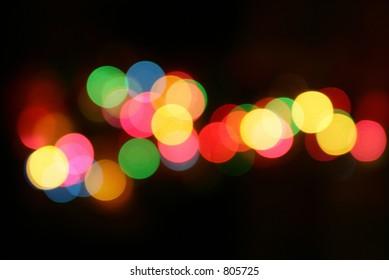 Merry Christmas Glowing Lights