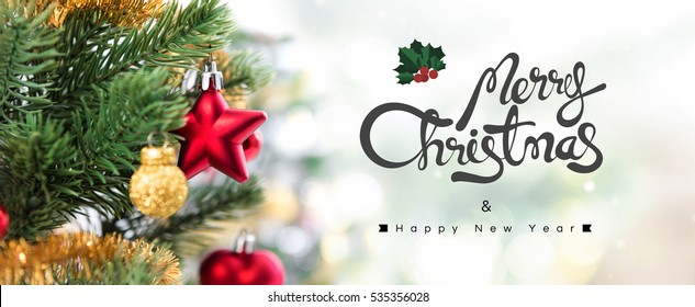 merry christmas banner images stock photos vectors shutterstock https www shutterstock com image photo merry christmas happy new year panoramic 535356028