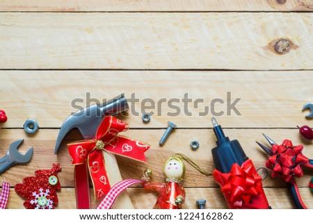 Merry Christmas Happy New Year Handy Stock Photo (Edit Now ...