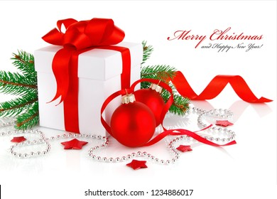 Merry Christmas and New Year 2019 Card